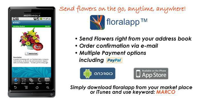 Everyday - Download our floralapp today!