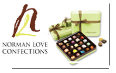Browse our selection of Norman Love chocolates.