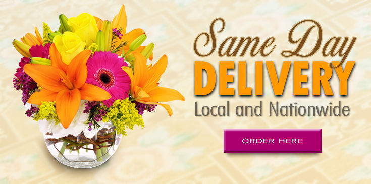 We deliver same day across town and the USA