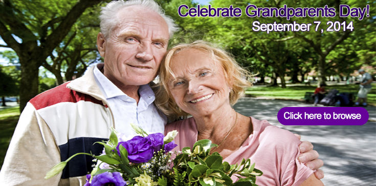 Browse our selection of Grandparent's Day gifts and make their day as special as they are!